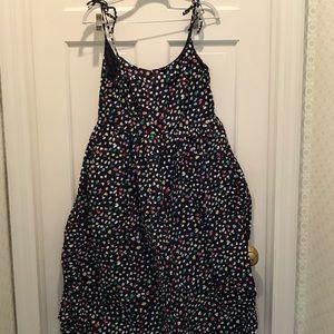 Jcrew midi cotton dress